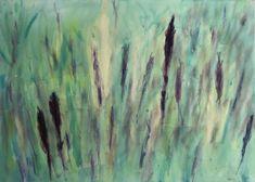 Lavendelfeld 50 x 70 cm Painting, Art, Idea Paint, Abstract, Art Background, Painting Art, Paintings, Kunst, Drawings