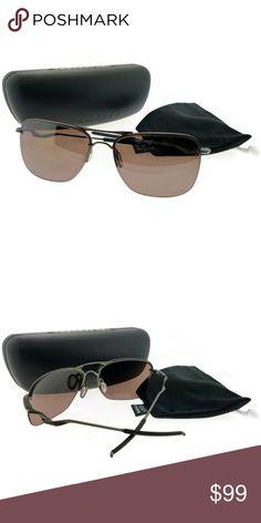 da70caa41ffb OO4087-05-60 Men s Grey Frame Polarized Sunglasses New gorgeous authentic  OO4087-05