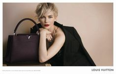 michelle williams louis vuitton | Louis Vuitton's Fall Ad Campaign Featuring Michelle Williams ...