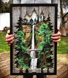 How To Make Wood Art ? Wood art is generally the work of surrounding around and inside, provided the surface of something is flat. Wood Painting Art, Wood Wall Art, Wood Projects, Woodworking Projects, Woodworking Plans, 3d Laser Printer, Deco Marine, Wood Crafts, Diy Wood