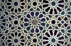 Perforation patterns: Islamic art, Alhambra