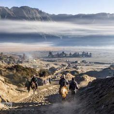 Mt Bromo - Half way up or half way down. by skteh33. Please Like http://fb.me/go4photos and Follow @go4fotos Thank You. :-)