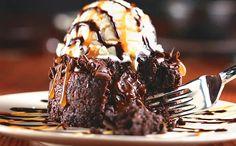 İçi akışkan çikolata dışı soğuk dondurma!