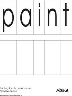 art worksheets free printable - Free Printable Art Worksheets