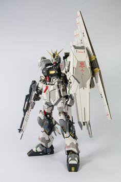 MG Nu Gundam Ver. KA サブ画像2
