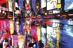 Times Square-New York City-Color  Photography Poster Print  24 by 36-Inch: http://www.amazon.com/Square-New-City-Color-Photography-Poster-36-Inch/dp/B00421A7SS/?tag=livestcom-20