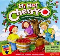 Hi-Ho Cherry-O!  Remember this game Kaitlin and I played this about every Friday night. Nice memories.