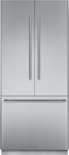 Thermador T36BT810NS 36 Inch Built In Fully Flush French Door Refrigerator  With 19.5 Cu.