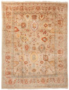 New Oushak Rugs