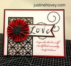 Justine's Close to My Heart Scrapbooking: February 2013