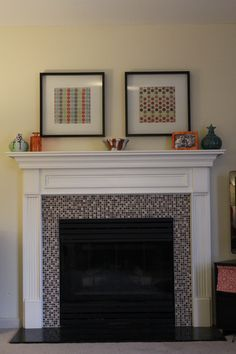 Fireplace Makeover.