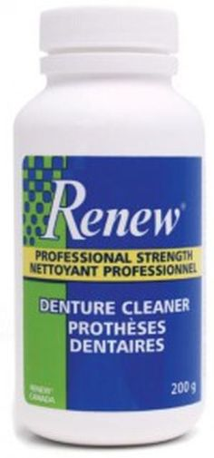 Renew Denture Cleaner Free Sample – Canada