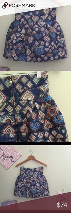 Stretchy Skirt Geometrical motifs on a stretchy material 💄💄👗 Skirts A-Line or Full