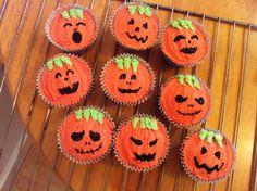 Helloween cupcakes
