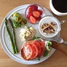 Instagram media keiyamazaki - Today's breakfast.