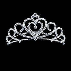 Alloy With Czech Rhinestones Bridal Tiara – USD $ 11.54