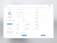Hey guys,   This is one of the projects, i've been working for a client lately. My main challenge was to keep it all on one screen in order to create some good UX for a user.