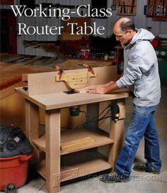 Router Table - Router Tips, Jigs and Fixtures | WoodArchivist.com