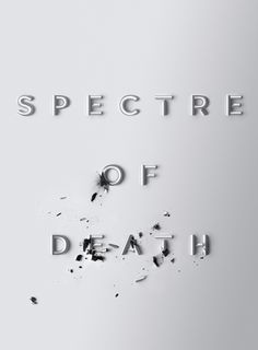 Typographic treatment for Entertainment Weekly's feature on the newly released James Bond blockbuster Spectre.
