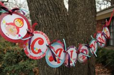 Little Red Riding Hood birthday banner