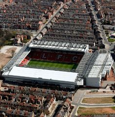 Anfield. Liverpool, England