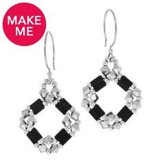 Around We Go Earrings | Fusion Beads Inspiration Gallery