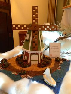 gingerbread house, grove park inn national gingerbread house competition