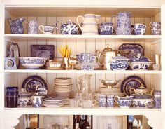 The Enchanted Home: Decorating with transferware and a beautiful giveaway!!