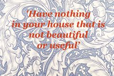 House Beautiful Oscar Wilde & William Morris Late 19th Arts & Crafts Movement