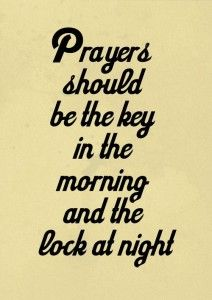 prayers-should-come-first