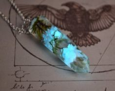 Glühen in den dunklen Halskette / leuchtende von AlgizStudio