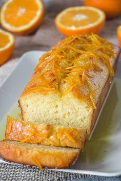 Yummy Recipes, Loaf Recipes, Quick Bread Recipes, Easy Bread, Sweet Recipes, Cooking Recipes, Yummy Food, Orange Bread Recipes, Orange Recipes Easy