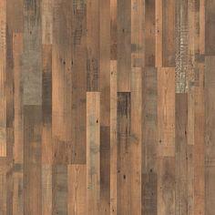 Pergo XP Reclaimed Elm 8 mm T x in. L Laminate Flooring sq. / - The Home Depot Modern Wood Floors, Rustic Wood Floors, Hardwood Floors, Engineered Hardwood, Dark Hardwood, Vinyl Laminate Flooring, Wood Flooring, Flooring Ideas, Pergo Laminate