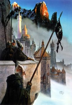 The Lord of the Rings - John Howe Art - Minas Tirith