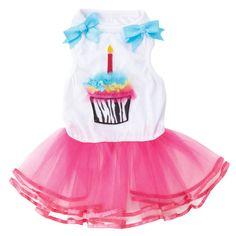 Petsmart.com - Dog: Clothing & Accessories: Top Paw™ Cupcake Tutu Dress for Mayzie!