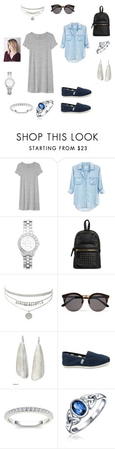"""""""Memphis II"""" by kahley-stewart on Polyvore featuring Gap, Rails, Christian Dior, Mossimo Supply Co., Illesteva, NOVICA, TOMS, Modern Bride and Bling Jewelry"""