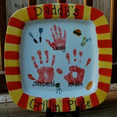Grilling plate Father's Day Ideas | Amanda Jane Brown