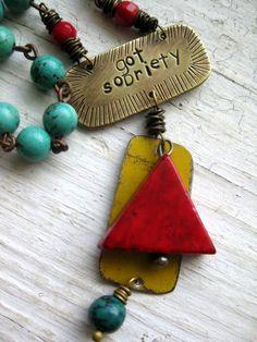 #sobriety #necklace. #hawaiirehab www.hawaiiislandrecovery.com
