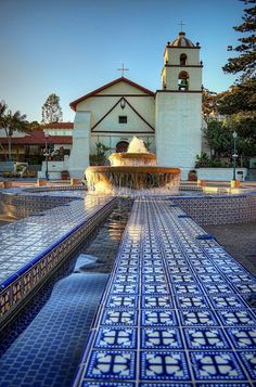 "Mission San Buenaventura, Ventura, California by ...-Wink-... Founded in 1782, the San Buenaventura Mission is the 9th and last mission founded by blessed Junipero Serra. Named after St. Bonaventure it is known as the ""Mission by the Sea""."