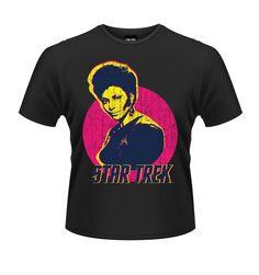 Star Trek Uhura Sun t-shirt OFFICIAL