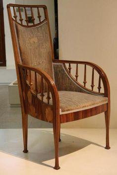 Art Nouveau Chair Louis Majorelle