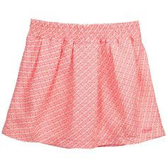 Pink Cotton Tweed Skirt, Chloé, Girl