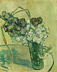 Vincent van Gogh: The Paintings (Still Life: Glass with Carnations). oil on canvas. 41 x 32 cm. Van Gogh Still Life, Vincent Willem Van Gogh, Painted Vans, Van Gogh Paintings, Art Van, Impressionist Artists, Post Impressionism, Painting Still Life, Carnations