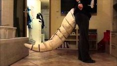 Movable dragon tail for cosplay. There's a tutorial linked in the description.