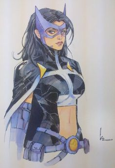 Huntress Rocafort projectcomiccon STL, in Jason Workman's Sketch and Commissions Comic Art Gallery Room Batman Et Catwoman, Dc Batgirl, Batwoman, Nightwing, Hawkgirl, Comic Book Characters, Comic Character, Comic Books Art, Book Art