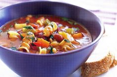 Minestrone soup main image