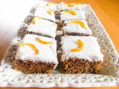 Gulrotkake med vanilje og appelsin   Det søte liv