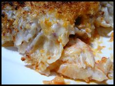 Buffalo Chicken Potato Casserole - This was good, but I regret not just using frozen hashbrowns; I cut up the potatoes far too small.