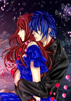 Omg, so cute❤️ Erza Y Jellal, Jerza, Nalu, Read Fairy Tail, Fairy Tail Ships, Fairy Tail Anime, Couples Comics, Anime Couples, Natsu And Gray