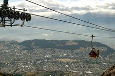 Teleférico de Quito - Foto: Quito Visitors Bureau